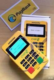 Título do anúncio: Minizinha Chip 2 Pagseguro livre de celular