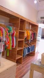 Título do anúncio: arara de roupas para lojas