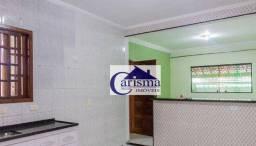 Título do anúncio: Casa com 3 dormitórios, sendo 1 suíte, para alugar, 80 m² por R$ 1.500/mês - Vila Luzita -