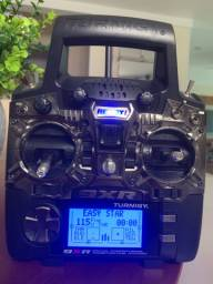 Turnigy 9XR - com modulo TX DJT e RX RX8R