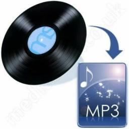 Título do anúncio: Conversão de disco de vinil para mp3 ou cd