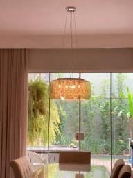 Título do anúncio: lustre cupula cristal led sala jantar led