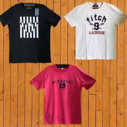 3 Camisas $ 100,00 e 3 short $ 90,00