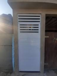 portões em alumínio garagem e social
