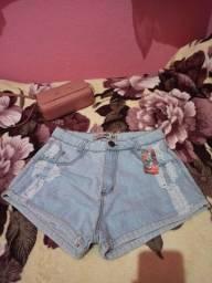 Título do anúncio: Short jeans novo
