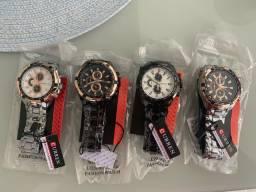 Relógio curren quartzo  masculino