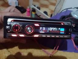Título do anúncio: Rádio de carro LG ariginal cd Am fm