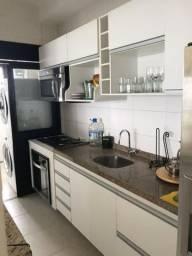 Apartamento 3 quartos sendo 1 Suíte Condomínio Acquarelle mobiliado conforme as fotos
