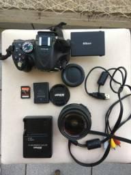 Nikon D5200 Máquina Fotográfica