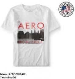 Camiseta masculina - Aeropostale - Tamanho GG - Novo
