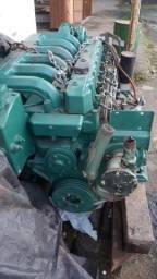Motor diesel maritimo 6 cc turbo 165 hp volvo penta AC moto