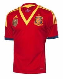 Camisa Espanha Copa das Confederações 2013 Colecionador