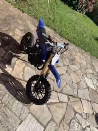 Mini moto Cross 49cc - troco por iPhone 7 ou ps4