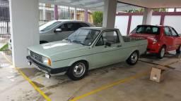 VW Saveiro S 1986 - Verde Alamo - Única - 1986