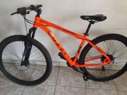 Vendo está bicicleta duas cemanas de uso está zera