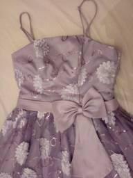 Vestido Curto Lilás