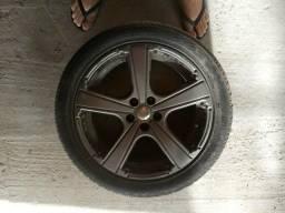 Rodas 17 pneus bons