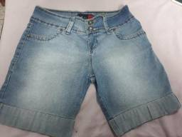 Short jeans feminino