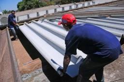 Telhado Reforma Tira Vazamento Calha - Cobertura em Geral