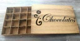 Caixa para Chocolates