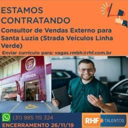 Consultor de Vendas Externo para Santa Luzia