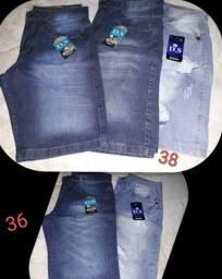 Bermunda Jeans Masculina 50,00