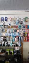 Vendo ( Carregadores, cabos, antenas, suportes de tv e celular, entre outros produtos)