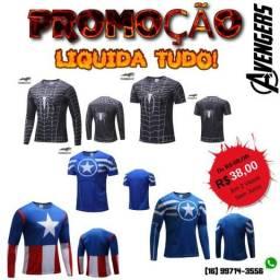 Promoção de Camisetas - Qualquer modelo da imagem De R$ 68,00 por R$ 38,00 em 2X s/ juros!