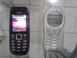Celular Analógico Nokia e Motorola $100