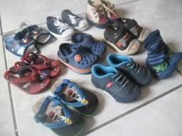 Lote de Sapato - Menino