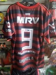 Camisas Flamengo Adulto e Infantil