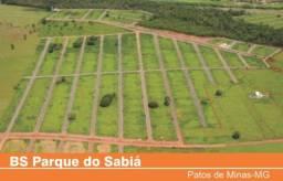 Oportunidade:Lote Quitado Parque Sabiá-Patos de Minas