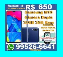 +*+* Samsung M10 32GB camera dupla _#_ +*+*+*+