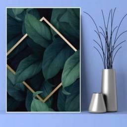 Placas decorativas de plantas