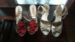 Sandálias de festa