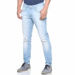 Kit 5 Calças Jeans Masculina De Marca Slim Casual Lycra