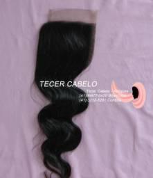 Front lace cabelo castanho escuro meio ondulado Curitiba