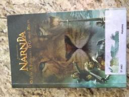 Livro As crônica de Nárnia: o leão, a feiticeira e o guarda-roupa