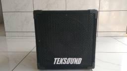 Caixa Baixo 1x12 Teksound 300 Wrms 4 ohms
