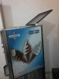 Máquina de sorvete expresso açai cremoso