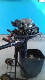 Motor Yamaha para barco 8hp - 2013