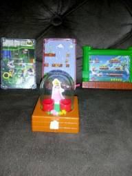 4 brinquedo mario mc Donald's