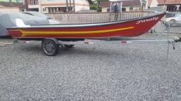Carretinha para barco 6m - 2013