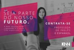 Contrata-se professor(a) bilingue