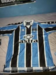 Troco camisa antiga do Grêmio campeão da libertadores 95 e kappa 2000 a1b863a4a5f64