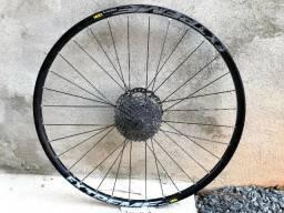 Cubo Shimano SLX com aro Vzan Extreme 29'' roda traseira usado