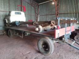 Chassis caminhão diferencial caixa