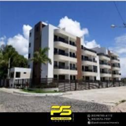 Apartamento com 2 dormitórios à venda, 54 m² por R$ 250.000 - Conde/PB