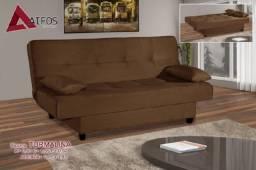 Sofá cama Turmalina menor preço RJ