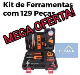 Kit de Ferramentas 129 Peças *Produto Novo!!!